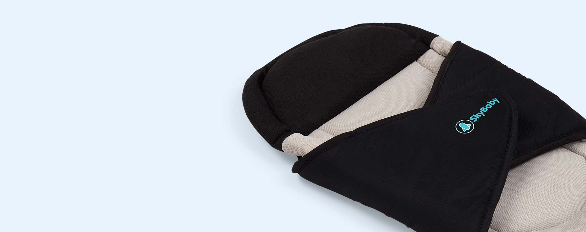 Black Sky Baby Travel Pillow