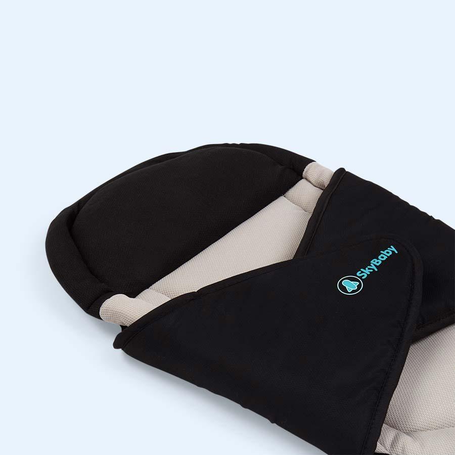 Black Sky Baby Travel Pillow