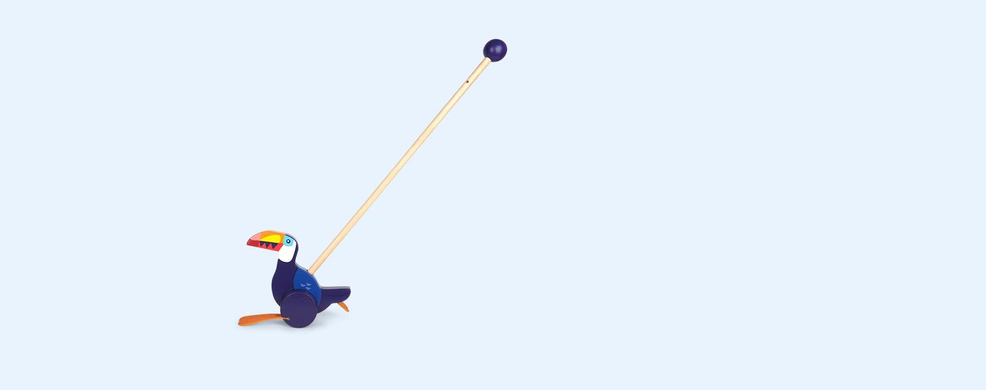 Blue Sunnylife Push Along Toucan