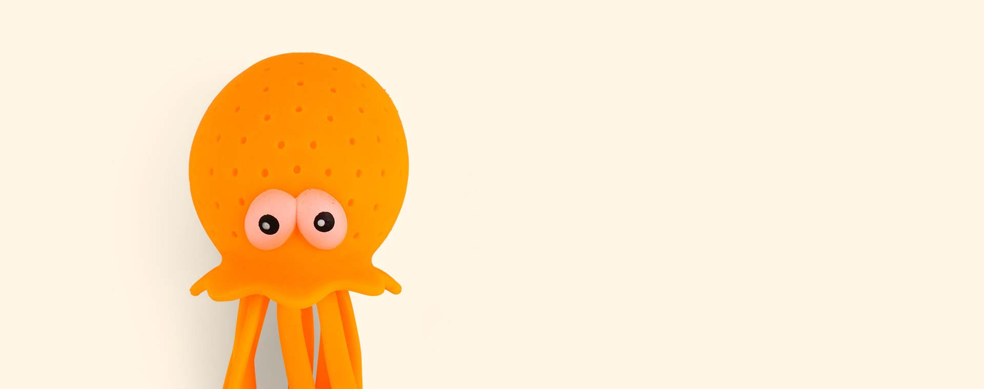 Orange Sunnylife Octopus Bath Toy