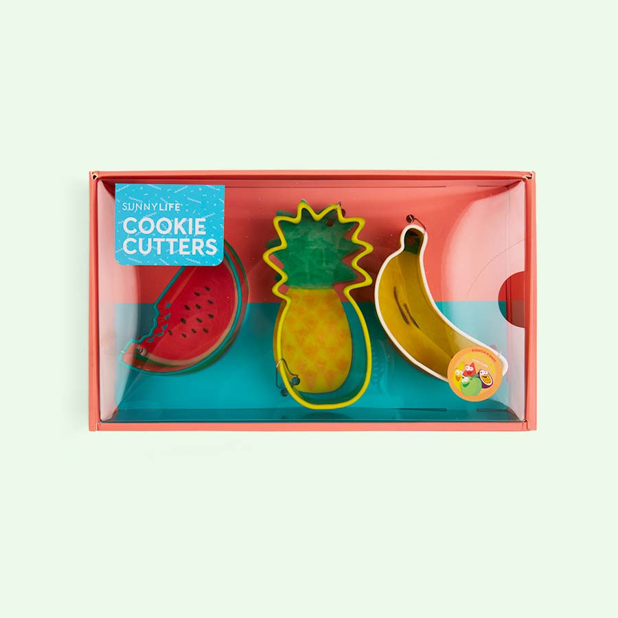 Multi Sunnylife Fruit Salad Cookie Cutters