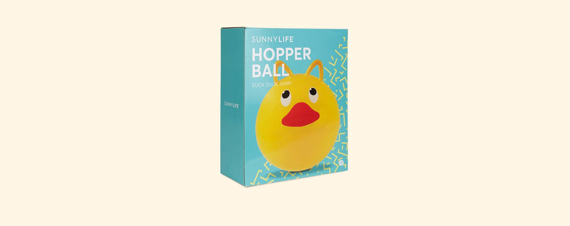 Yellow Sunnylife Ducky Hopper Ball