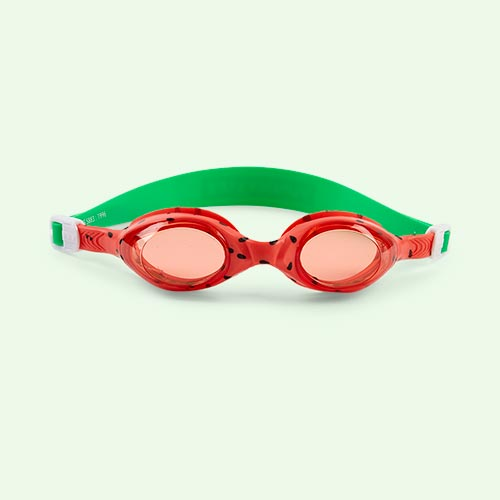 Watermelon Sunnylife Swimming Goggles