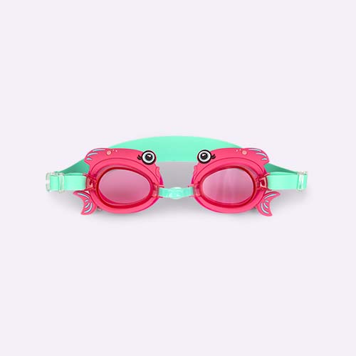 Fishy Sunnylife Swimming Goggles