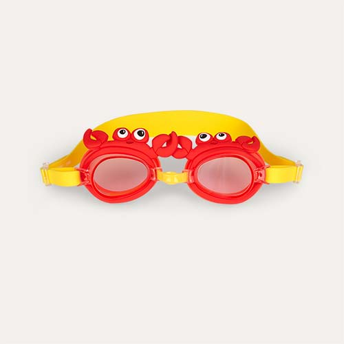 Crab Sunnylife Swimming Goggles