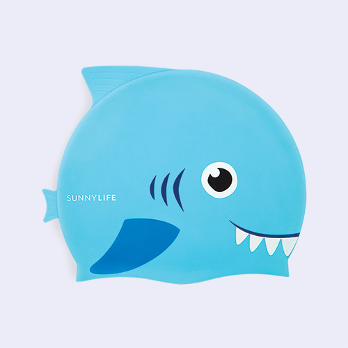 Shark Sunnylife Swimming Cap