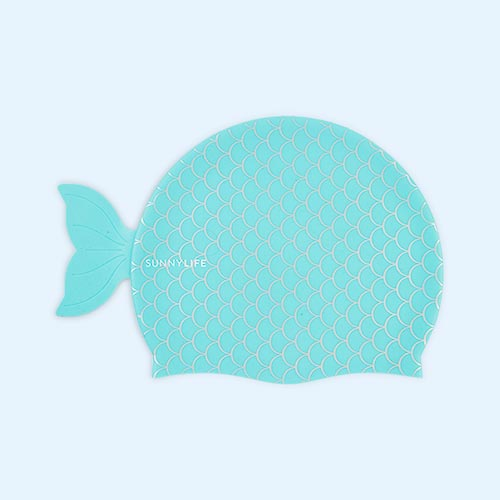 Mermaid Sunnylife Swimming Cap