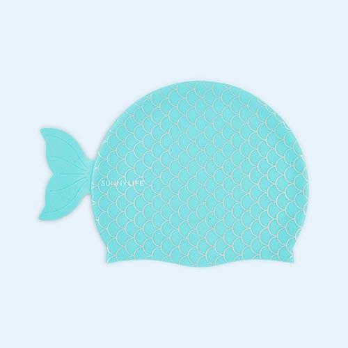 Mermaid Sunnylife Swimming Cap