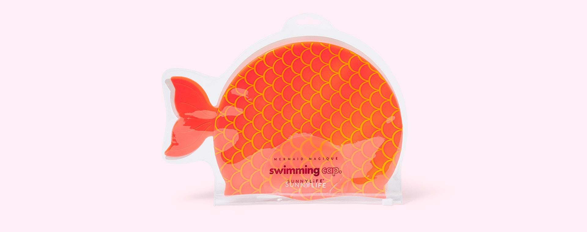 Mermaid Magique Sunnylife Swimming Cap