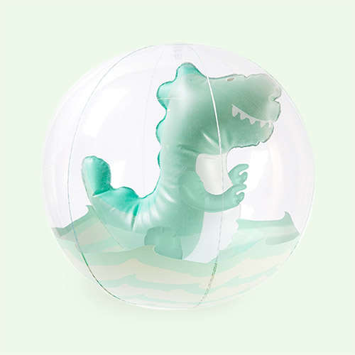 Surfing Dino Sunnylife 3D Inflatable Beach Ball