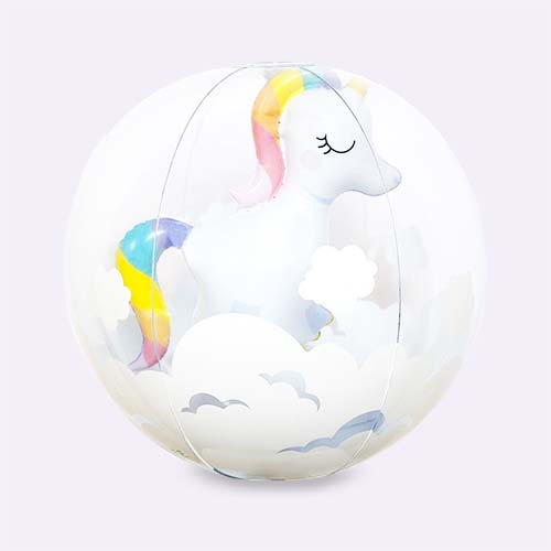 Unicorn Sunnylife 3D Inflatable Beach Ball