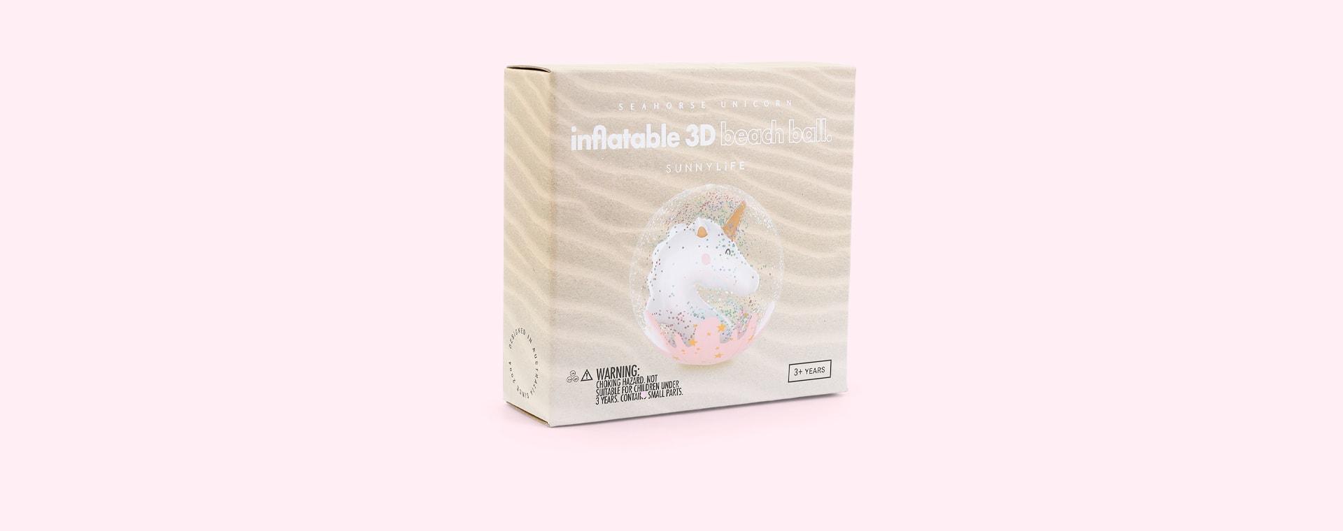 Seahorse Unicorn Sunnylife 3D Inflatable Beach Ball