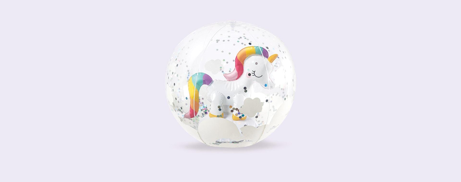 Unicorn Sunnylife 3D Inflatable Beach Ball