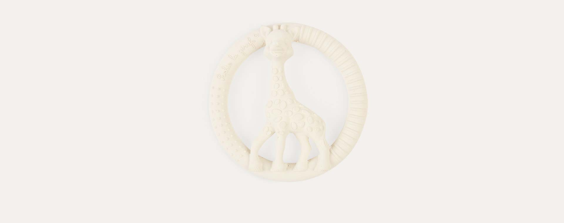Neutral Sophie la girafe So Pure Circle Teether