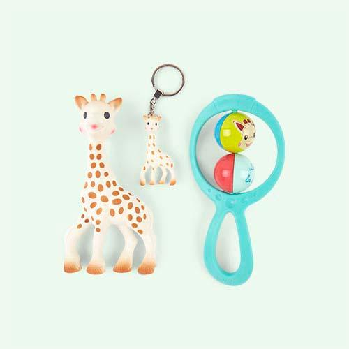 Multi Sophie la Girafe Newborn Gift Set