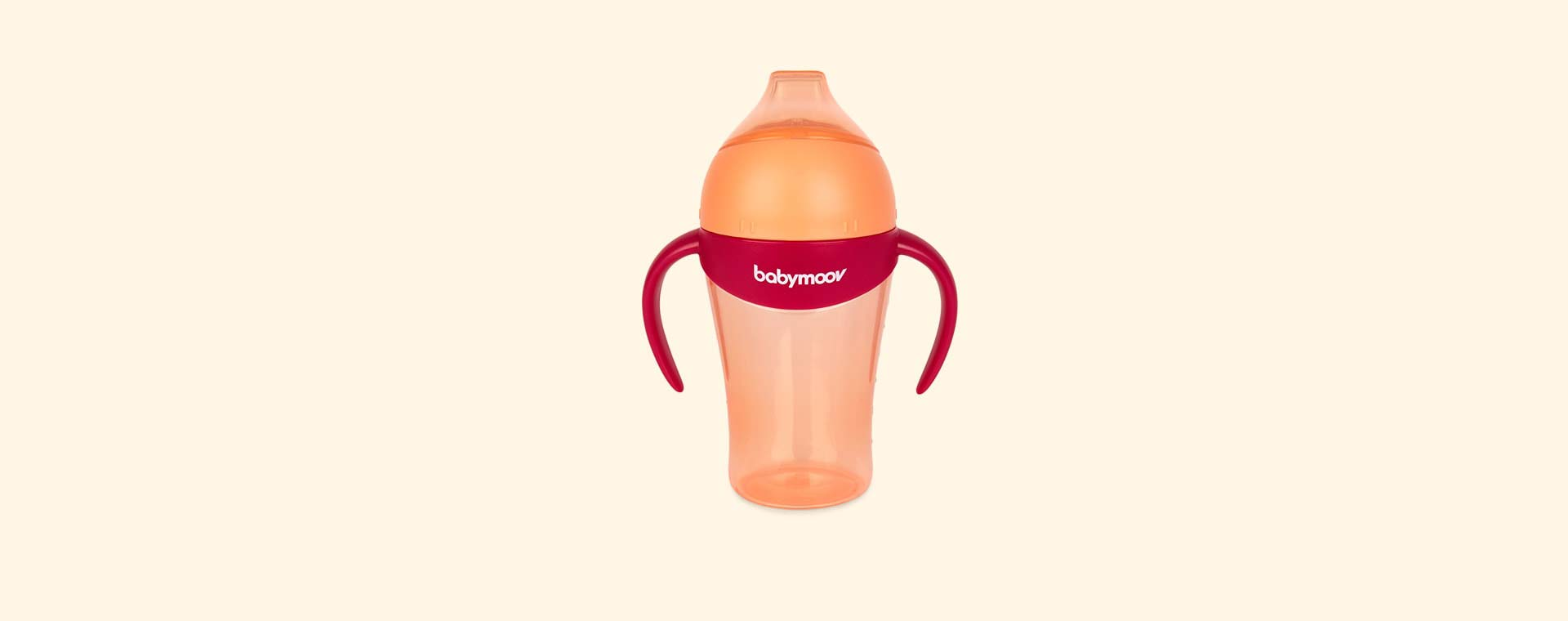 Peach Babymoov Non Spill Cup With Spout