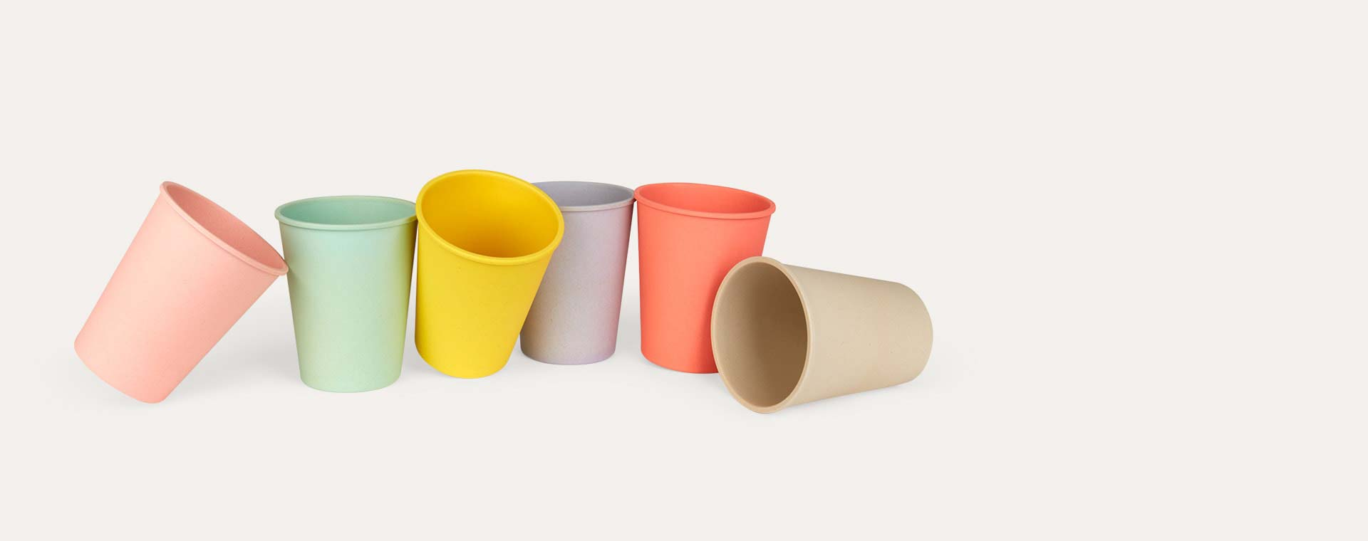 Pastel Engel Bamboo Cup Set