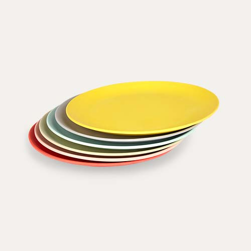 Multi Engel Bamboo Plate Set