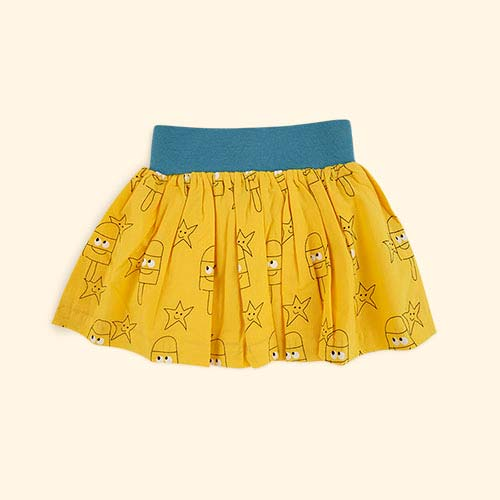 Yellow La Queue du Chat Sunny Skirt