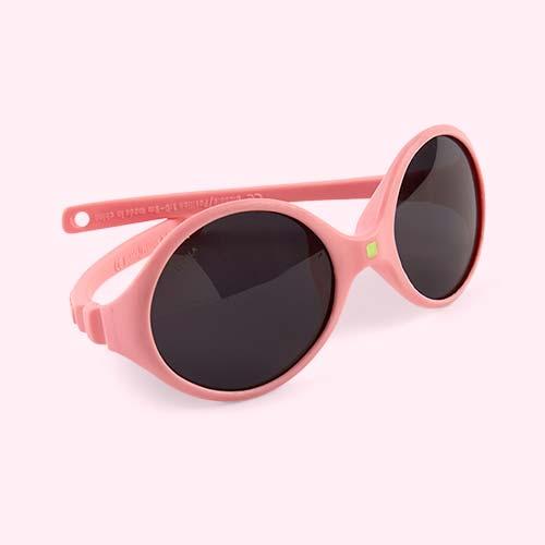 Light Pink Ki ET LA Diabola Reversible Baby Sunglasses
