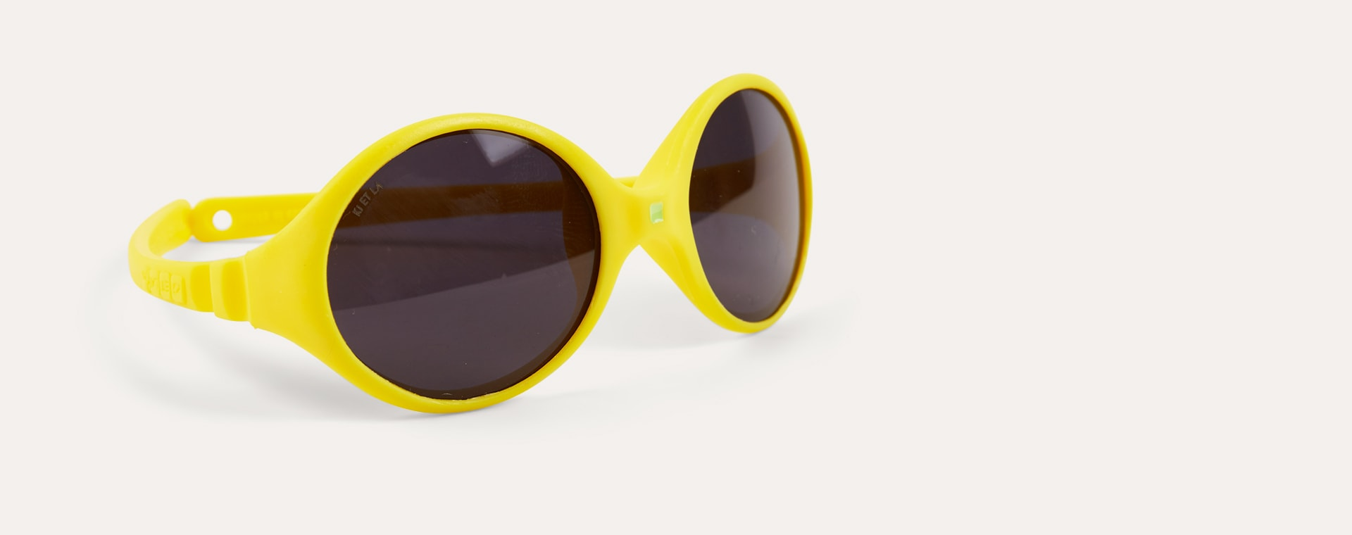 Jaune Ki ET LA Diabola Reversible Baby Sunglasses
