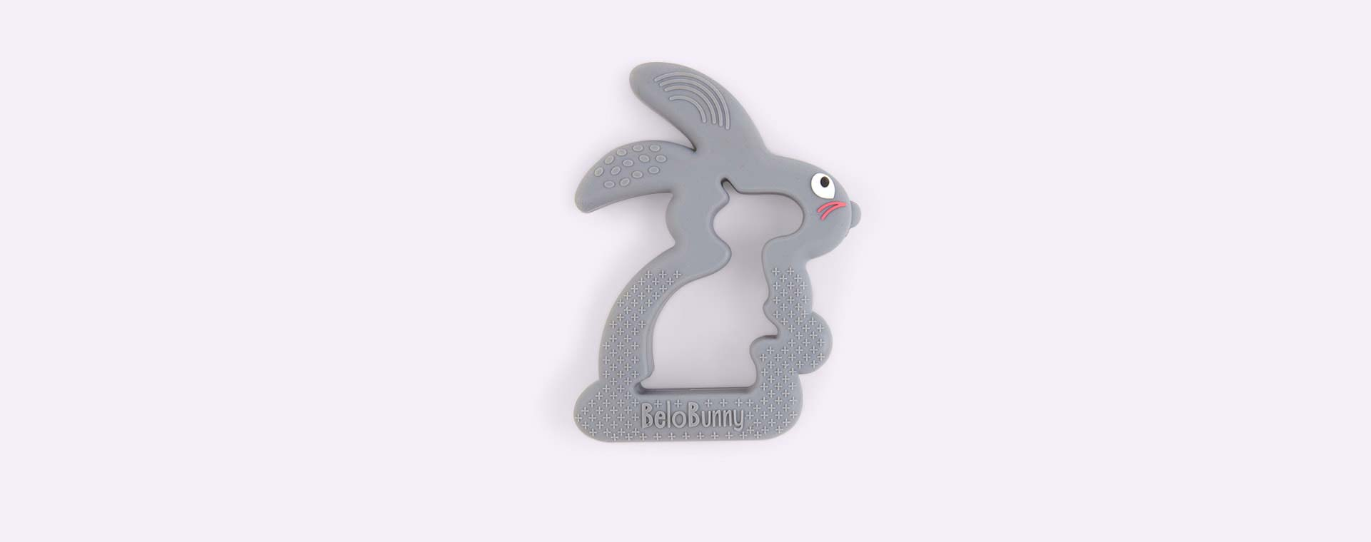Grey Belo & Me Belo Bunny Teether
