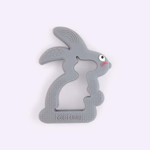 Grey Belo & Me Belo Bunny Teether