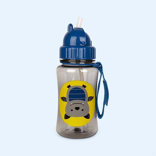 Bat Skip Hop Zoo Straw Bottle