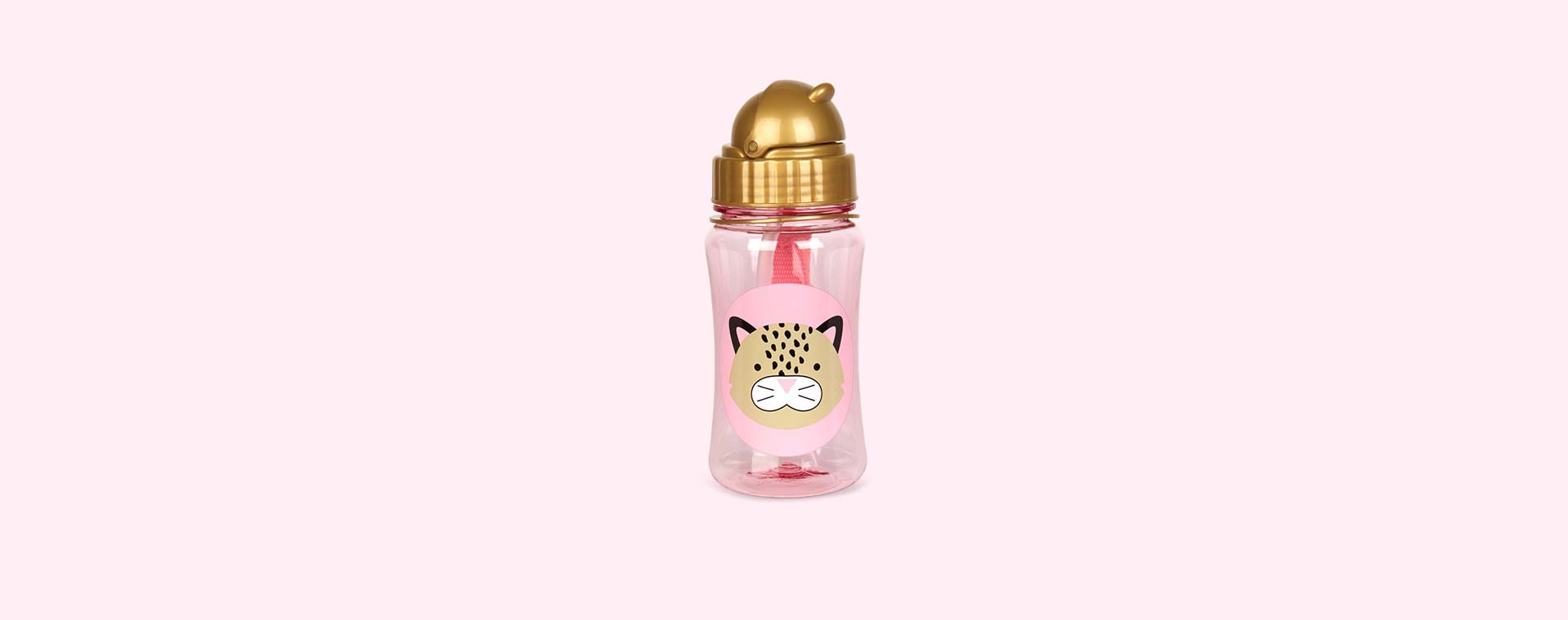 Leopard Skip Hop Zoo Straw Bottle
