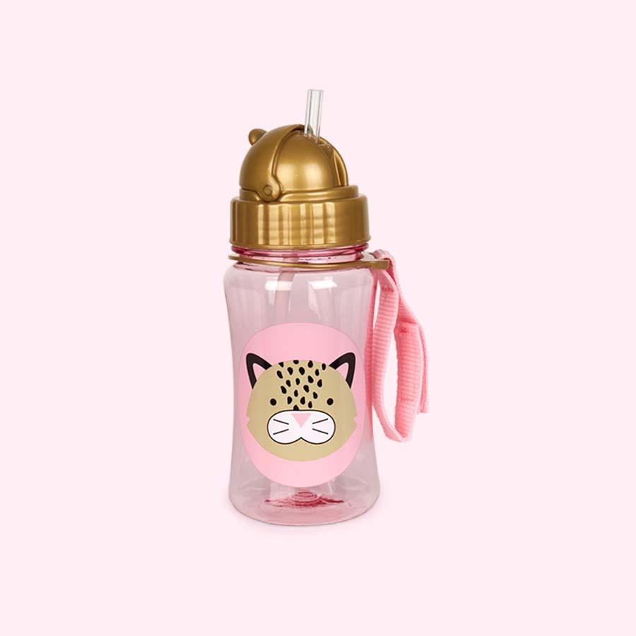 Leopard Skip Hop Zoo Straw Bottle