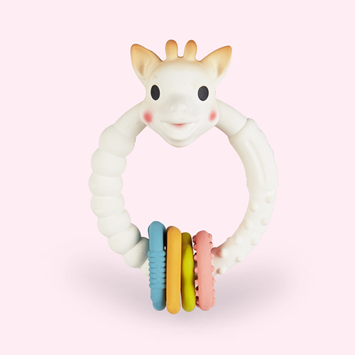 Neutral Sophie la Girafe So'Pure Multi Textured Teether