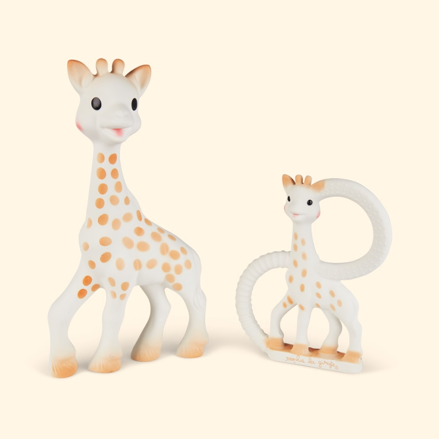 Neutral Sophie la Girafe Sophiesticated Teether Set