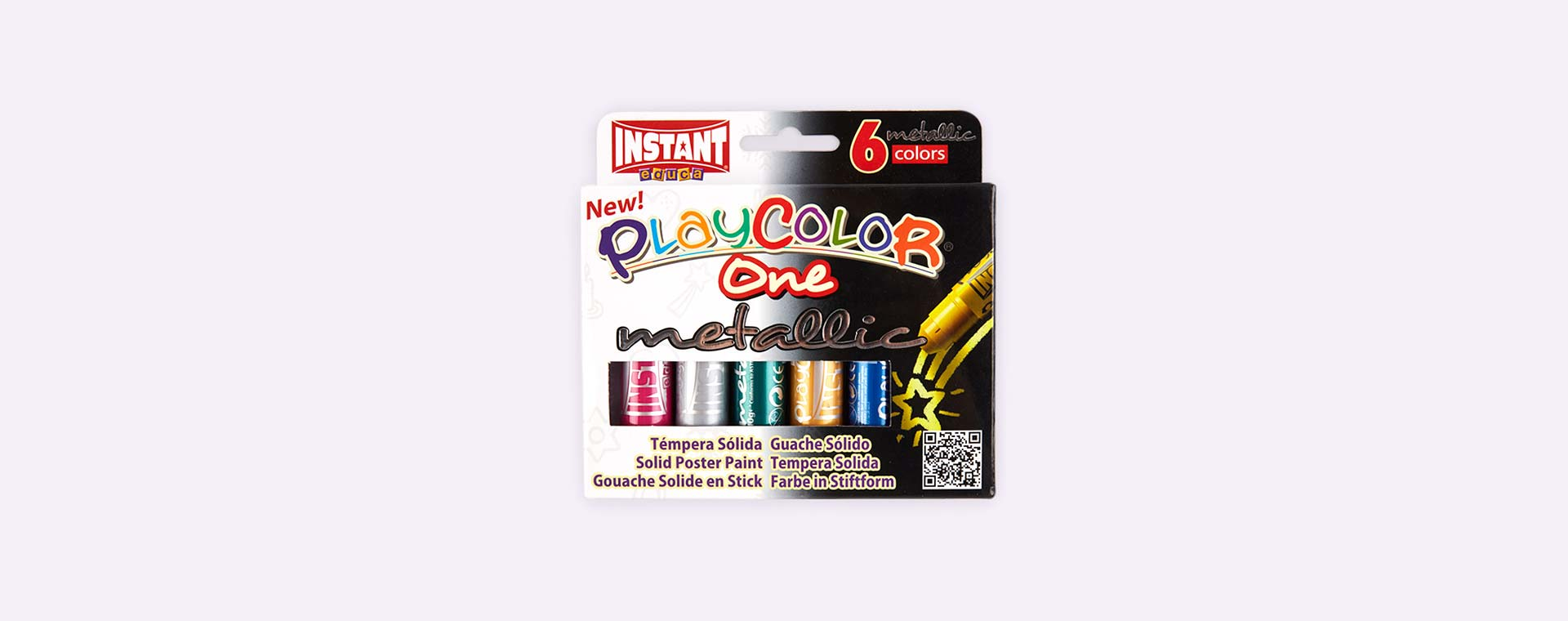 Metallics Playcolor Metallic Poster Paints 6 Pack