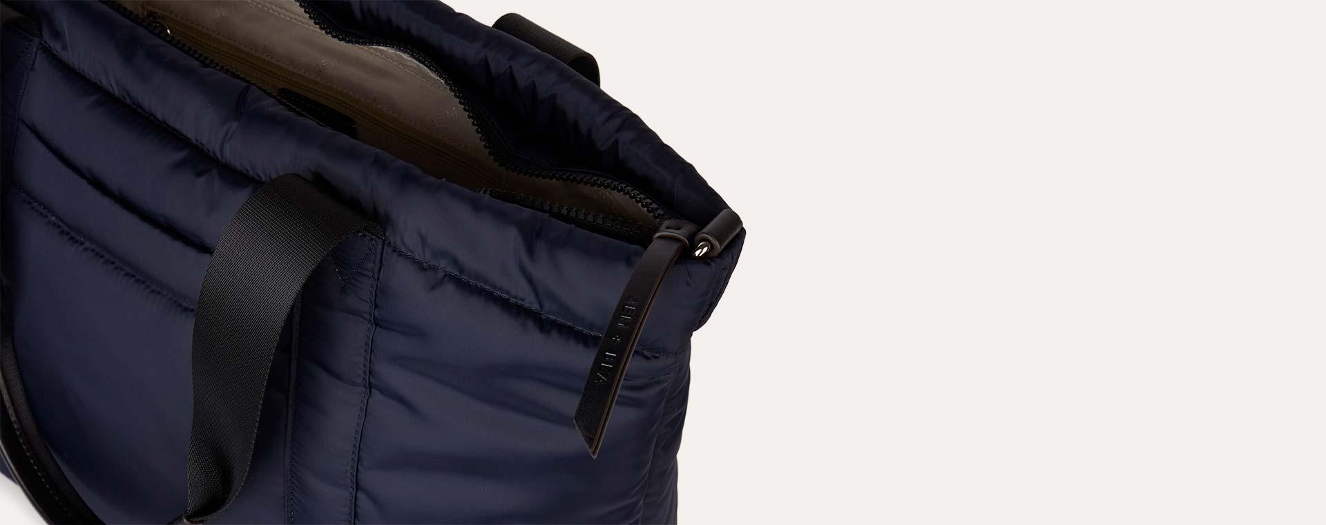 Navy JEM + BEA Romy Tote Bag