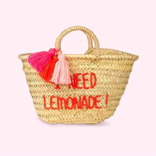 I Need Lemonade Rose In April Embroidered Bag