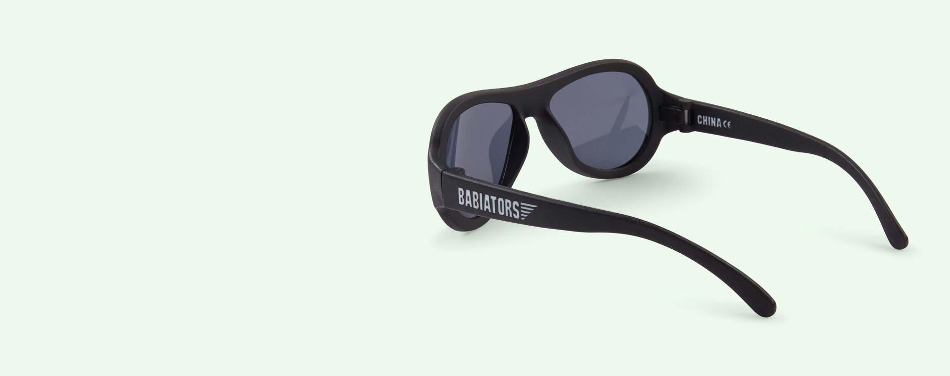 Buy The Babiators Original Aviators At Kidly True Blue Classic Ages 3 7 Sunglasses Black