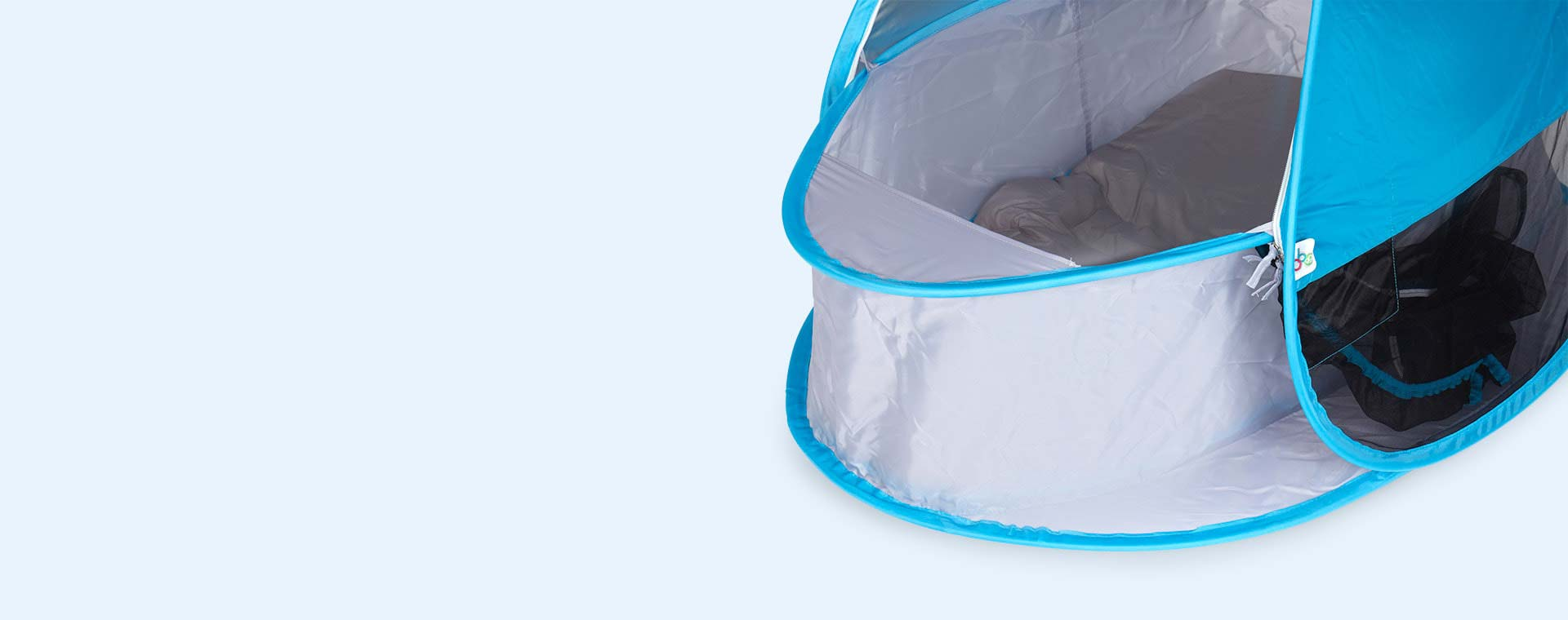 Blue bbgg-baby Pop Up Bassinet