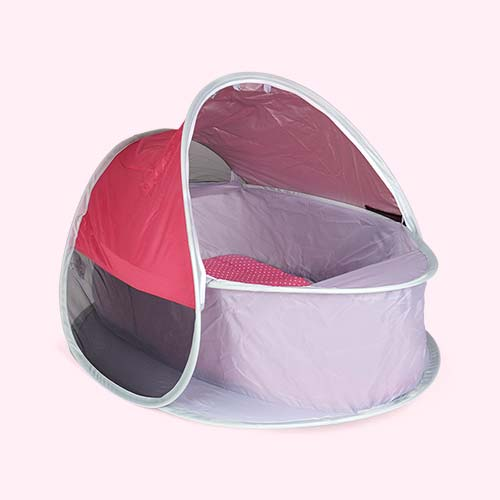Pink bbgg-baby Pop Up Bassinet