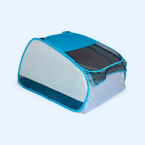 Blue bbgg-baby Travel Cot