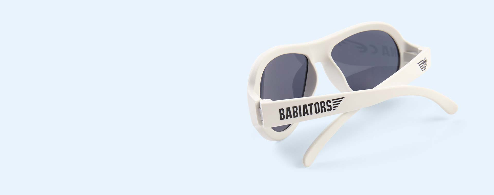 Wicked White Babiators Limited Edition Aviator