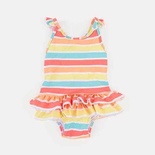 Sorbet Stripe Sunuva Baby Sorbet Stripe Swimsuit