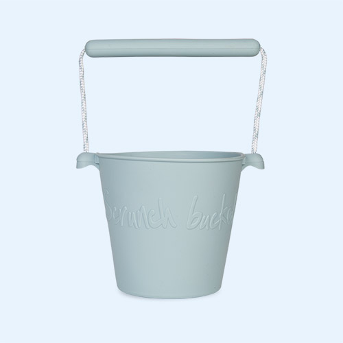 Duck Egg Blue Scrunch Scrunch Bucket