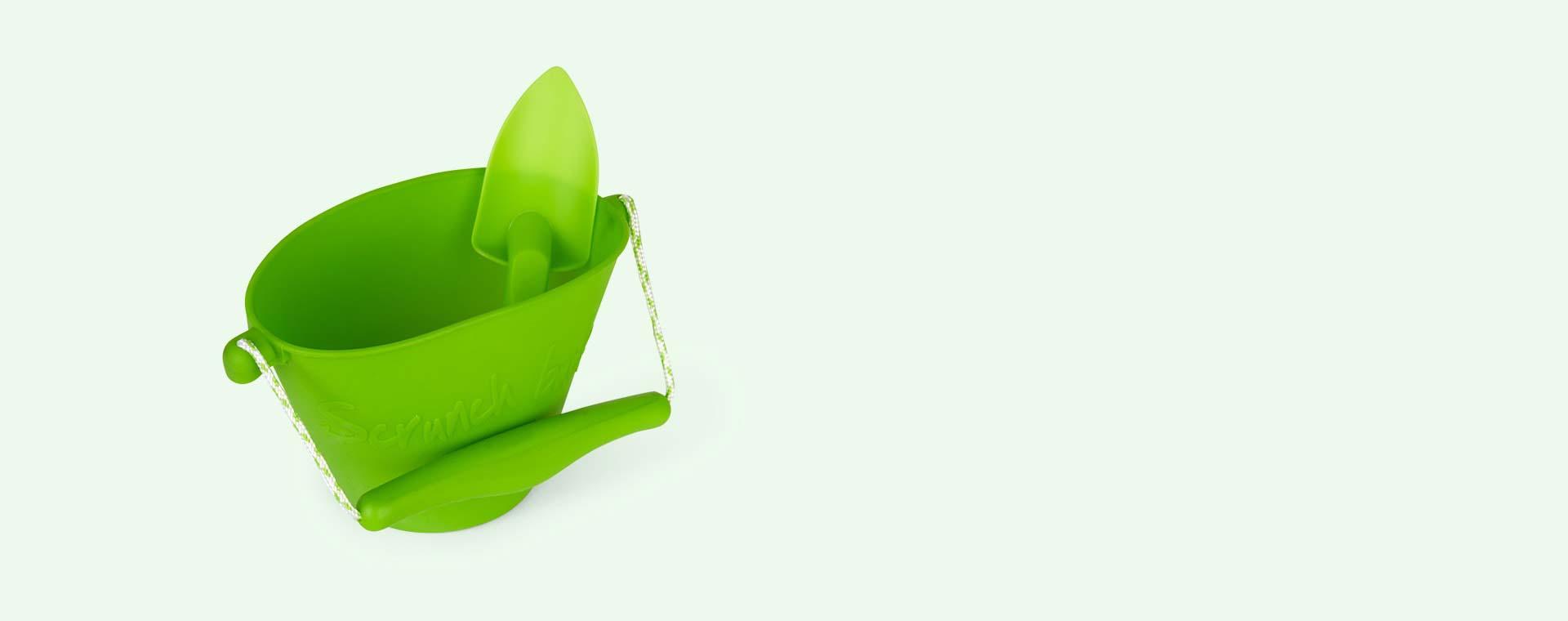 Green Scrunch Scrunch Bucket