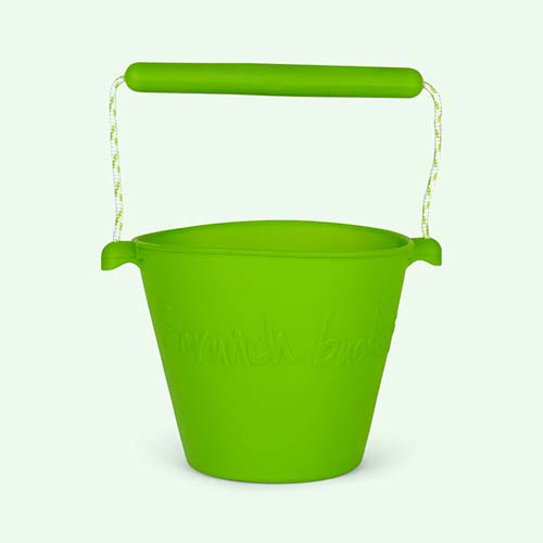 Green Scrunch Scrunch Bucket