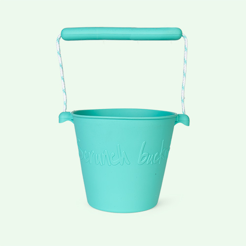 Duck Egg Green Scrunch Scrunch Bucket