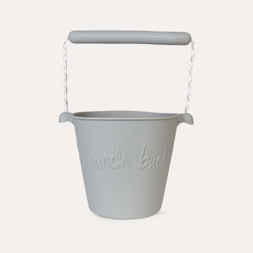 Misty Grey Scrunch Scrunch Bucket