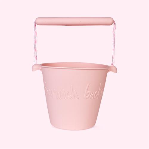 Blush Pink Scrunch Scrunch Bucket