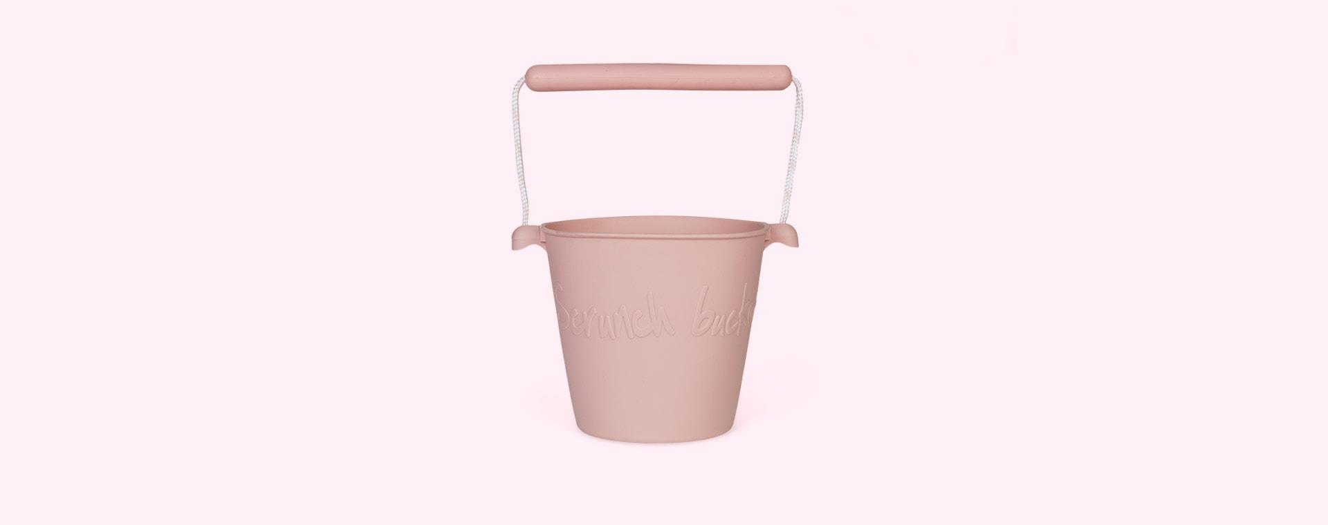 Dusty Rose Scrunch Scrunch Bucket