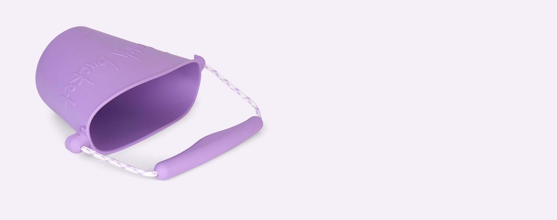 Purple Scrunch Scrunch Bucket