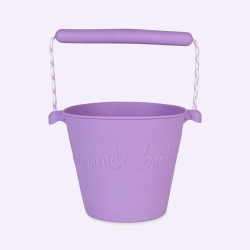 Purple Scrunch Scrunch Bucket